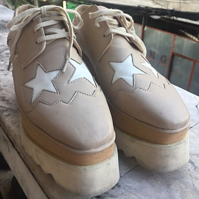 Stella McCartney Elyse Star Platforms