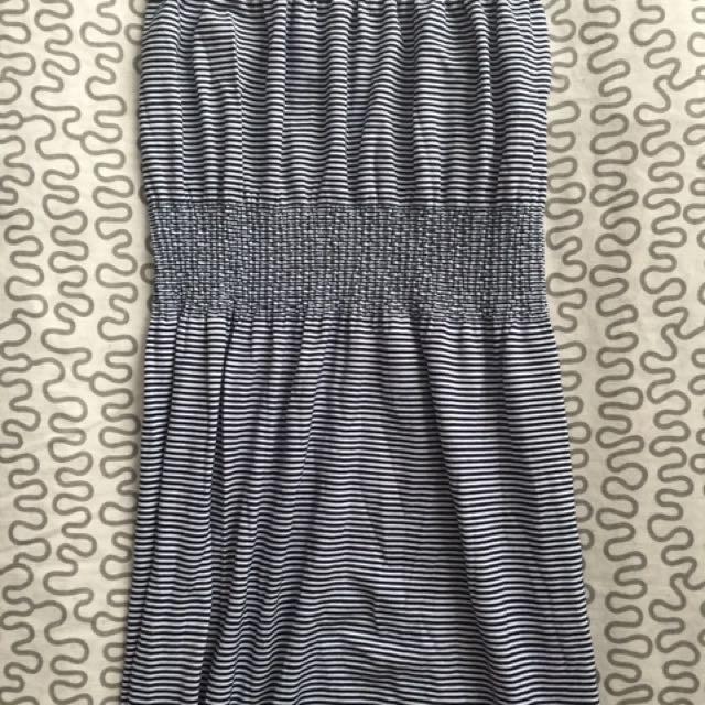 Stripped Maxi Dress
