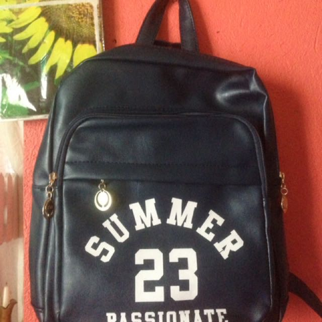 Summer Backpack Leather