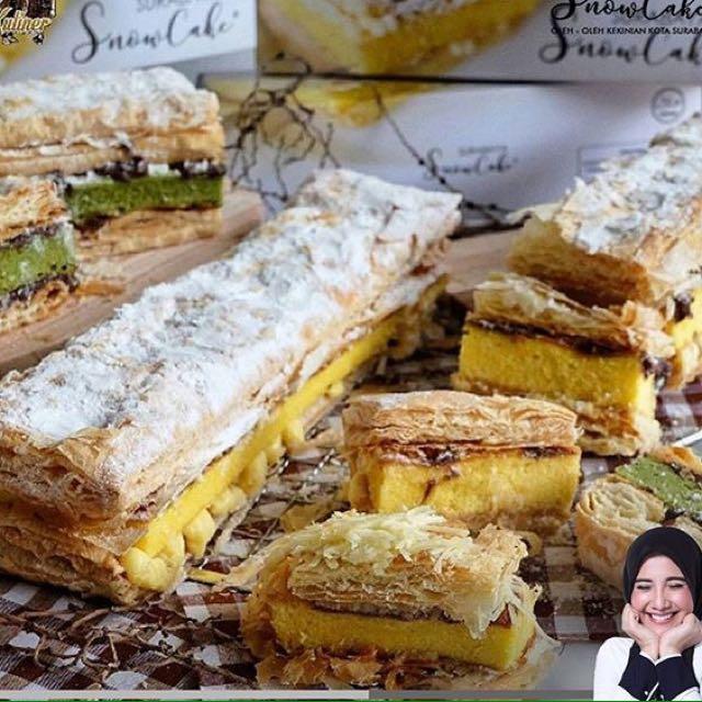 surabaya snowcake by zaskia sungkar food drinks baked goods on rh id carousell com