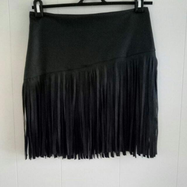 Tasselled Skirt Size 10