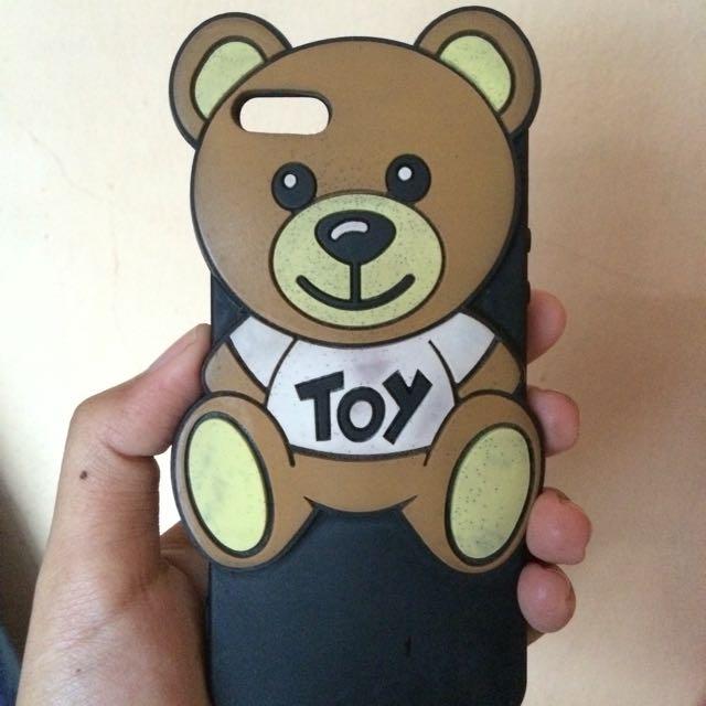 Teddy case 5/5s iphone