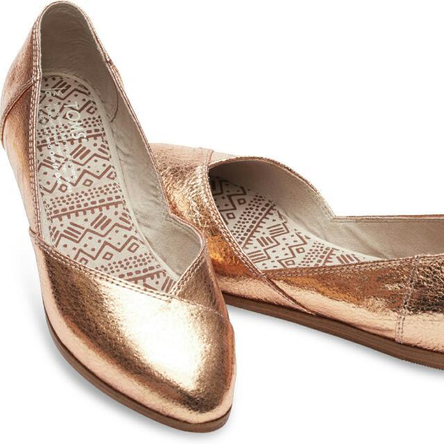 24062577b TOMS Jutti Flats Size 9, Women's Fashion, Shoes on Carousell