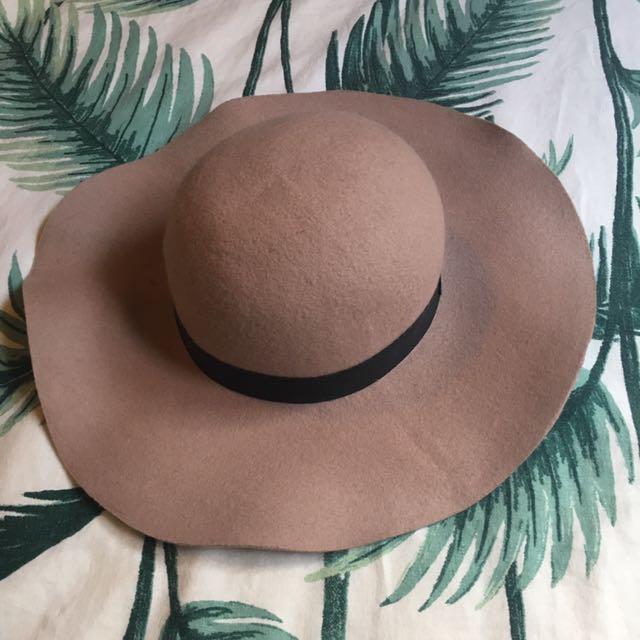 Topshop 100% Wool Hat