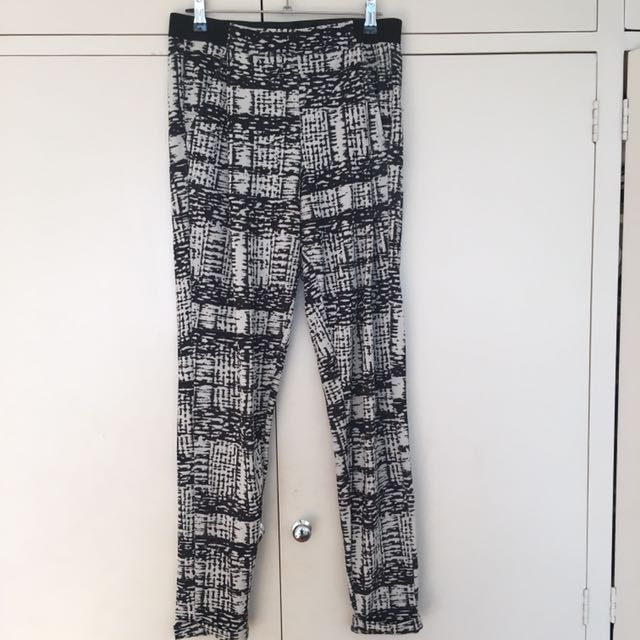 Topshop Patterned Trousers