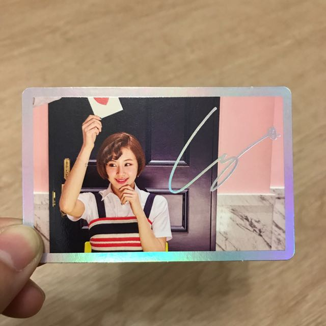 Twice - Chaeyoung Signal Special Card