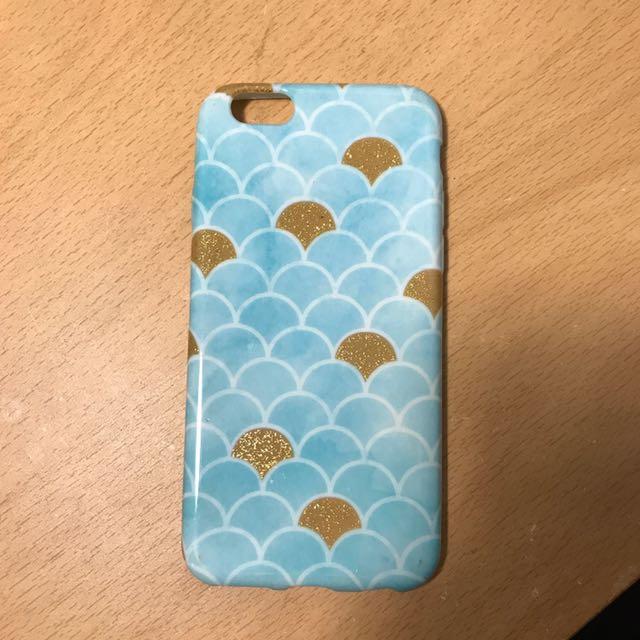 Typo Mermaid iPhone 6/6S Cover