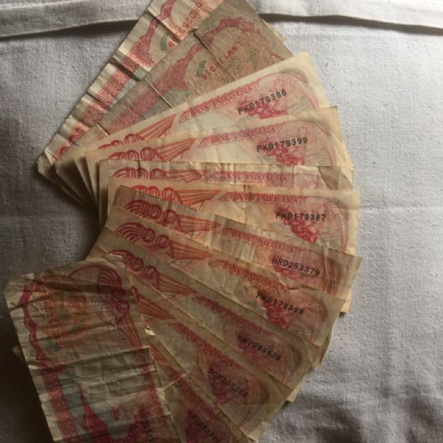 Uang 100 Kapal