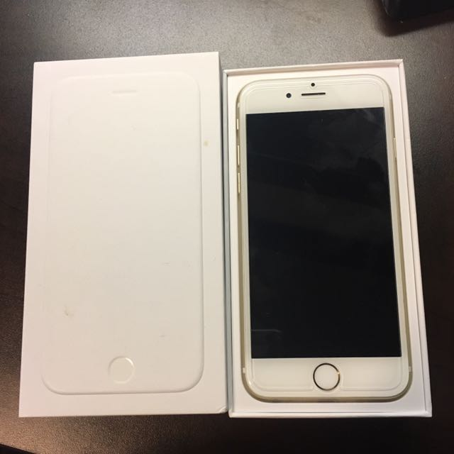Gold Unlocked iPhone 6