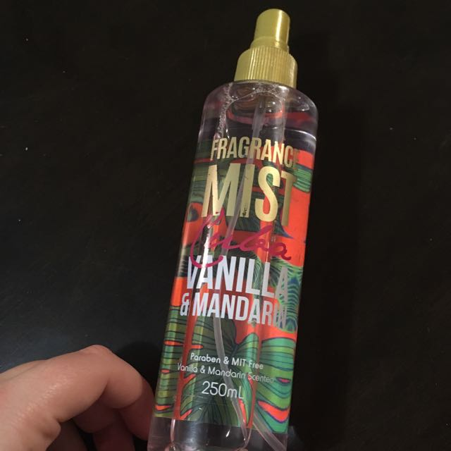 Vanilla And Mandarin Body Mist