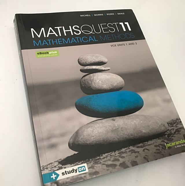 VCE Units 1&2 Mathsmatical Methods