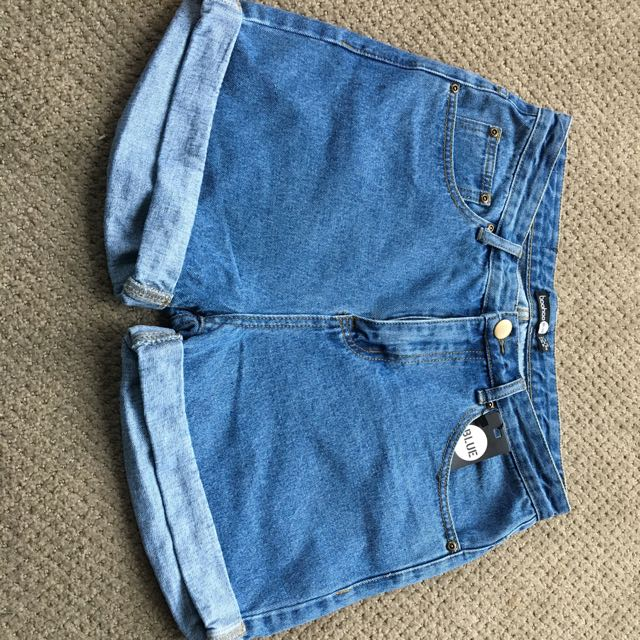 Vintage Denim Mum Shorts