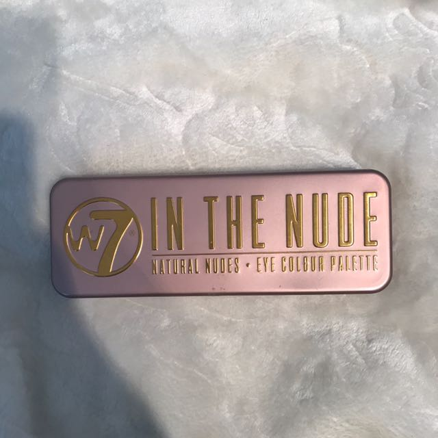 W7 In The Nude Eyeshadow Palette