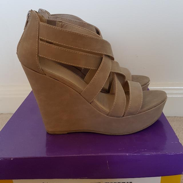Wildfire Strappy Wedge Heels
