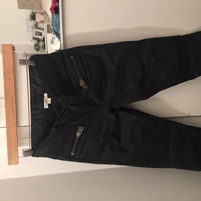 Witchery Wax Look Jeans