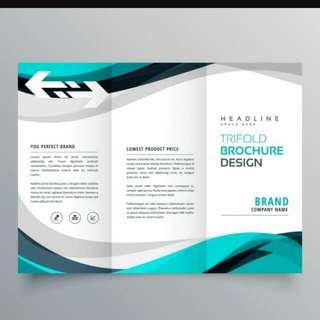 Digital Marketing Design For Brochure, Standee Etc