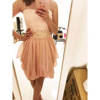 正牌Pazzo小禮服 伴娘小禮服姐妹裙女伴娘服短款婚禮連衣裙洋裝