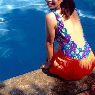 Floral Swimsuit 🏊🏻👙