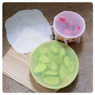 Reusable Washable Silicon Food Wrap Keeps Your Food Fresh Air Tight Seal Heat Resistant