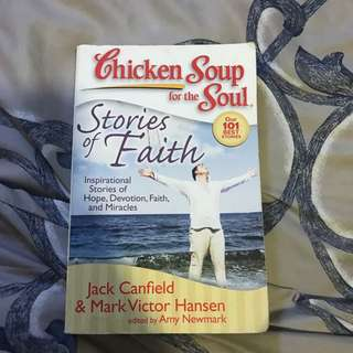 Chicken soup stories of faith