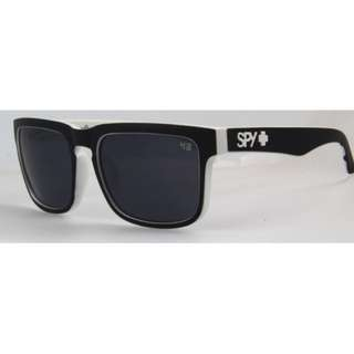 monochrome Spy sunglasses with leather case free postage unisex