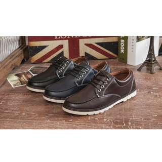 BN leather casual dress shoe size 43