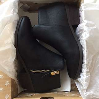 Black Call It Spring Booties