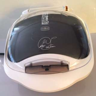 George Foreman Grilling Machine with  Bun Warmer Model GR10ABW
