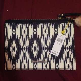 BCBG small clutch NWT