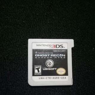 Ghost Recon Shadow Wars 3DS