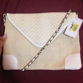 Weaved Crossbody Bag NWT