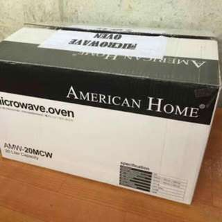 Microwave Oven -American Home AMW 20MCW 20L (White)