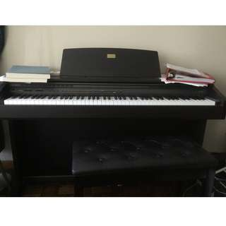 Celviano Casio AP-45 Digital Electronic Piano with Bench
