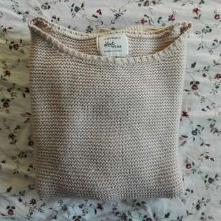 Beige / nude coloured Knitted Sweater