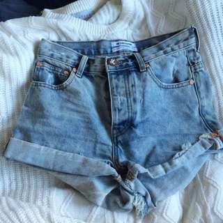 Oneteaspoon Shorts Size 24 (Aus 6)