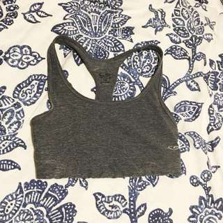 Deep Grey Sports Bra