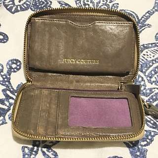 Juicy Couture Gold Wallet