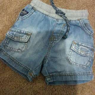 Celana Pendek Jeans Mothercare