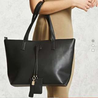 F21 Faux Leather Bag