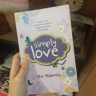 Novel Simply Love