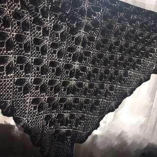 Hand knitted Scarf / Shawls ...手織披肩
