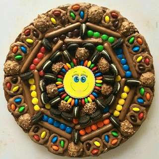 COOKIE PIZZA FOR YOUR DADS CAKES CUPCAKES BROWNIES IPHONE SHOES KICKS SAMSUNG CLOTHES PHONE