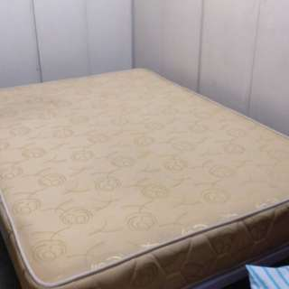 Mattress with Bed Frame
