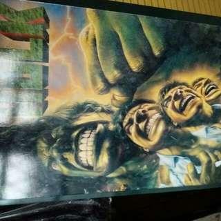 Poster Hulk 102x67 Cm