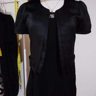 👇🏻降價👇🏻<私物>Wanko專櫃黑色小外套 #爸爸節八折