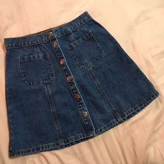 Denim Skirt (XS)