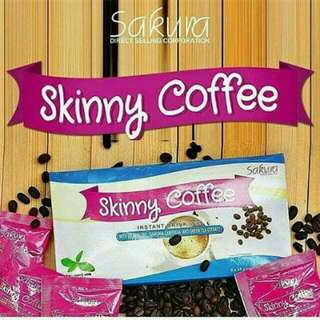 16pcs. Authentic Sakura Skinny Coffee