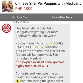 4th Time Thank You Carousell Team and Co-carousellers!