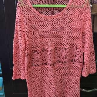 Knitted Dress Max Dubai Unused