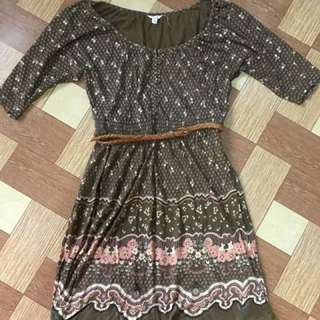 Forever21 Dress With Belt
